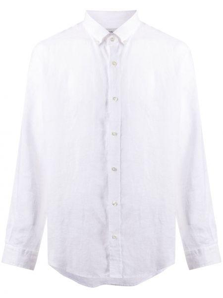 Biała koszula z długimi rękawami Bluemint