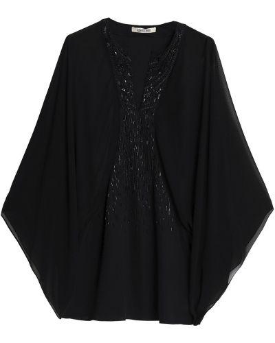 Bluzka z jedwabiu - czarna Roberto Cavalli