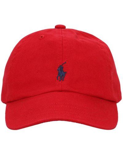 Z paskiem bawełna bawełna kapelusz Ralph Lauren