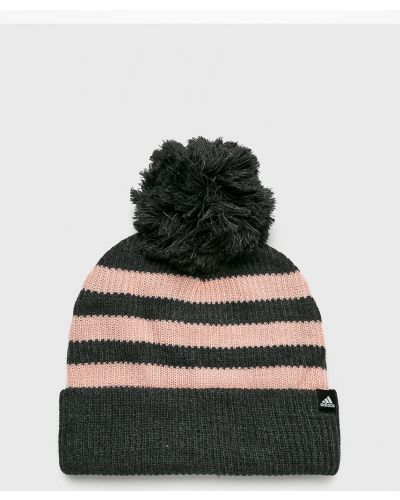 Зимняя шапка с помпоном с отворотом Adidas Performance
