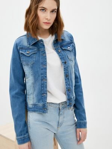 Джинсовая куртка - синяя Jimmy Sanders