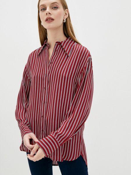 Бордовая блузка с длинным рукавом Michael Michael Kors