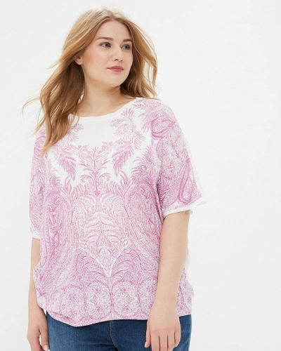 Розовая блузка осенняя Evans