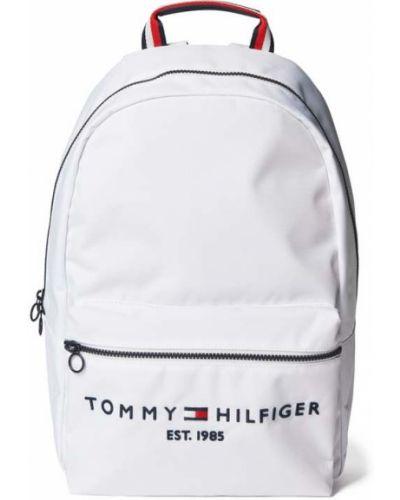 Biały plecak w paski Tommy Hilfiger