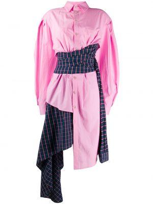 Платье макси длинное - розовое Natasha Zinko