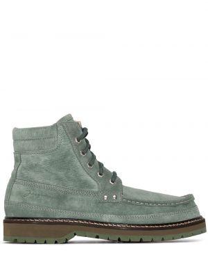 Zielony buty z prawdziwej skóry Jacquemus