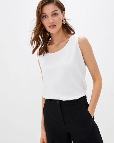 Свободный белый топ свободного кроя Samos Fashion Group