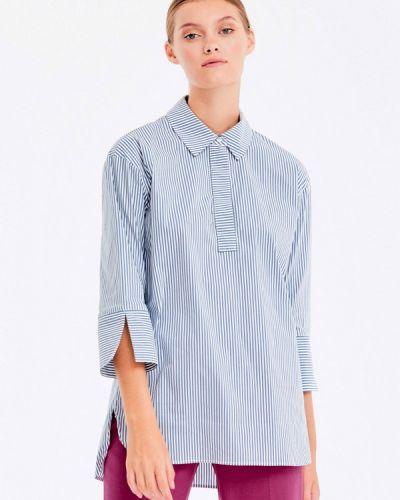 Голубая рубашка с длинным рукавом Musthave
