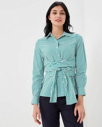 Зеленая рубашка с коротким рукавом Lime