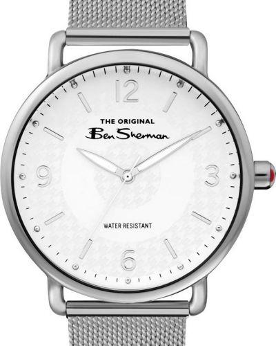 Часы водонепроницаемые белые Ben Sherman
