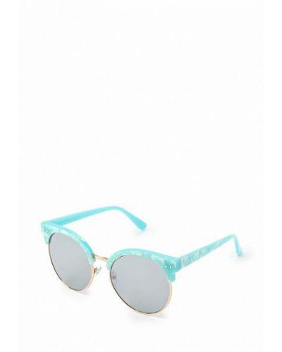 Бирюзовые солнцезащитные очки Kawaii Factory