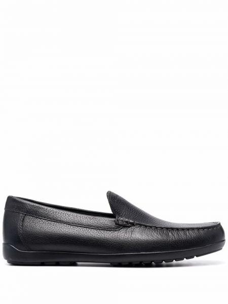 Loafers - czarne Geox