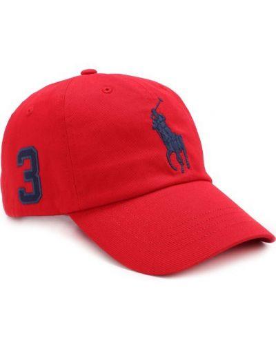 Красная бейсболка Polo Ralph Lauren