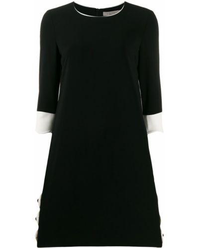 Черное платье миди на кнопках D.exterior