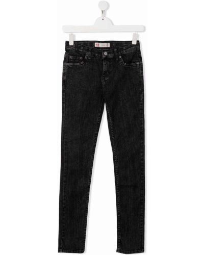 Czarne klasyczne jeansy Levis Kids