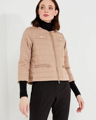 Бежевая утепленная куртка Liu Jo