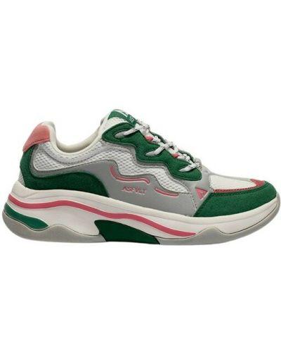 Zielone sneakersy Asfvlt