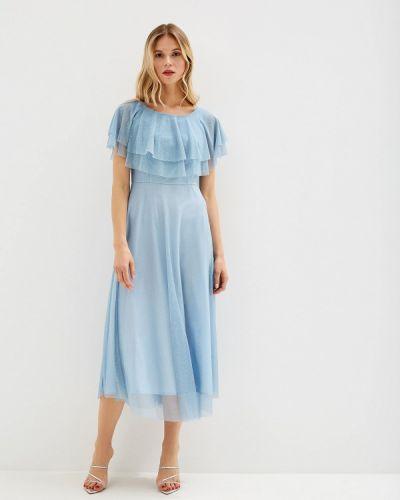 Платье - голубое Genevie