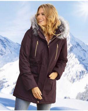 Кожаная куртка с капюшоном утепленная Atlas For Men