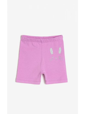 Rajstopy bawełniane - fioletowe Koton