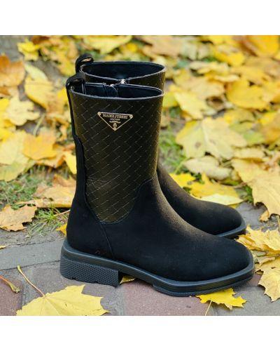 Ботинки - черные Gina