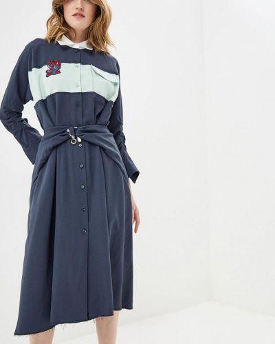 Платье платье-рубашка осеннее Carven