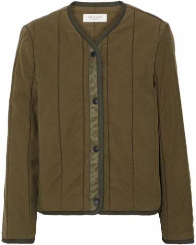 Зеленая ватная стеганая куртка Rag & Bone