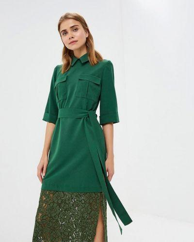 Платье осеннее зеленый Lolita Shonidi