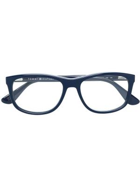 Очки синий прямоугольные Tommy Hilfiger