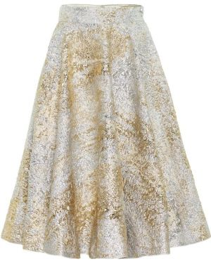 Юбка миди из парчи пачка Dolce & Gabbana