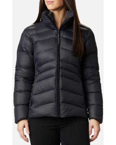 Пуховая черная куртка Columbia
