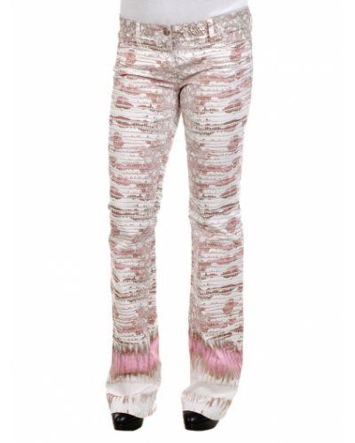 Розовые брюки Roberto Cavalli