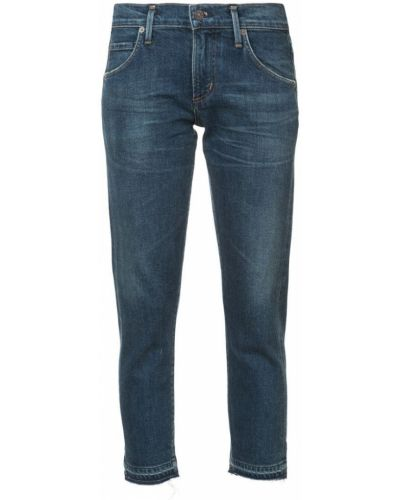 Укороченные джинсы на пуговицах с карманами Citizens Of Humanity