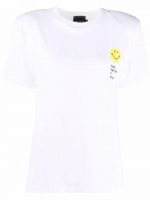 Biała koszulka krótki rękaw Joshua Sanders