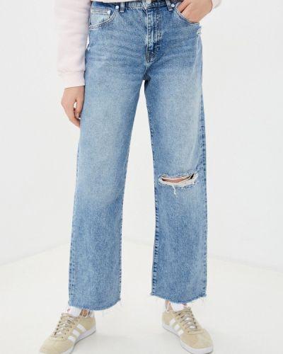 Расклешенные джинсы свободного кроя Mavi