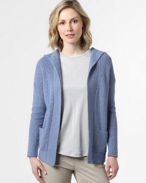 Niebieski garnitur dzianinowy Marie Lund