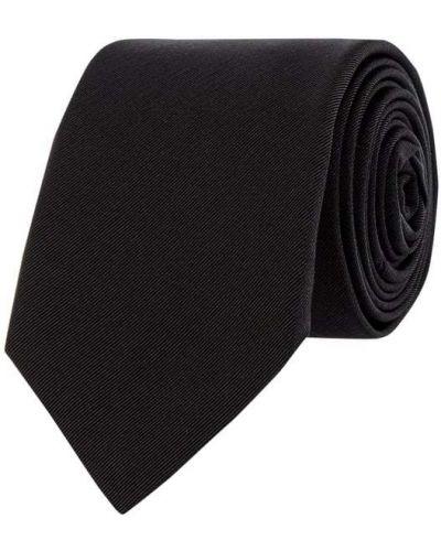 Klasyczny czarny krawat z jedwabiu Blick