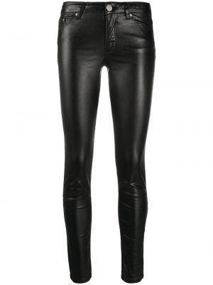Облегающие зауженные джинсы - черные Karl Lagerfeld