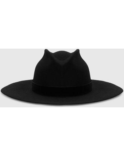 Шерстяные шляпа - черные Max & Co