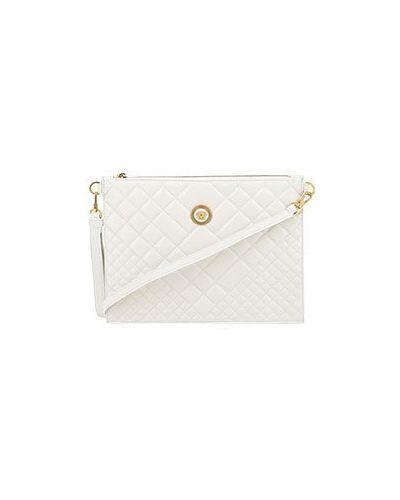 Клатч белый Versace