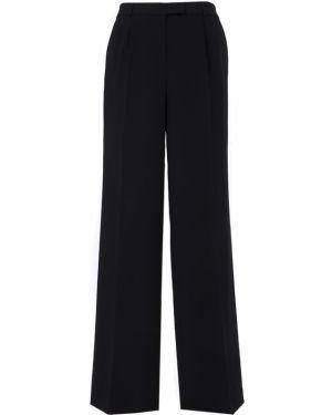 Шелковые брюки - черные A La Russe