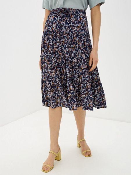 Синяя юбка Baon