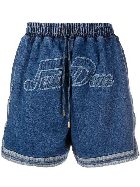 Niebieskie jeansy bawełniane Just Don