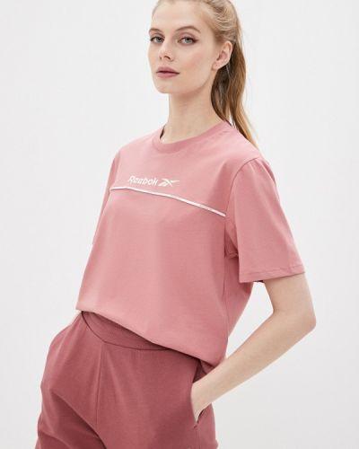 Розовая футболка Reebok Classic