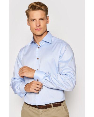 Niebieska koszula Eton