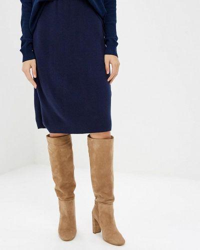 Синяя юбка Milana Style