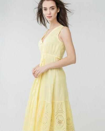 Пляжное платье - желтое Ora