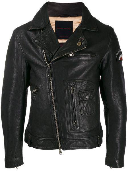 Черная куртка с манжетами Deus Ex Machina