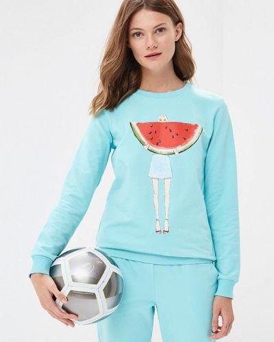 Бирюзовый спортивный костюм Fashion.love.story