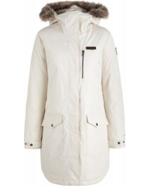 Куртка с капюшоном - белая Columbia